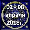 Гороскоп азарта на неделю - с 02 по 08 апреля 2018